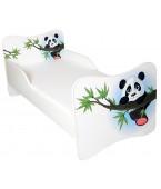 Łóżko z materacem 140 x 70 cm - PANDA
